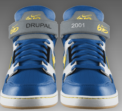 Second pair of drupal shoes