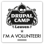 I'm attending Drupalcamp Leuven 2015 as a Volunteer
